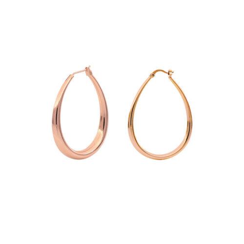 Orecchini Donna Unoaerre 000EXO4239900R della collezione Bronze. Orecchini a campana realizzati in bronzo rosato. Chiusura con perno e scatto.