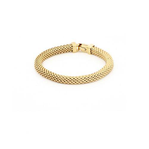 Bracciale Donna Unoaerre 000EXB4644000G della collezione Bronze. Bracciale realizzato in bronzo gold con catena agganciata.