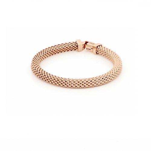 Bracciale Donna Unoaerre 000EXB4644000R della collezione Bronze. Bracciale realizzato in bronzo rosato con catena agganciata.
