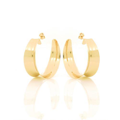 Orecchini Donna Unoaerre 000EXO4258000G della collezione Bronze. Orecchini a cerchio, realizzati in bronzo gold. Chiusura con perno e farfalla.