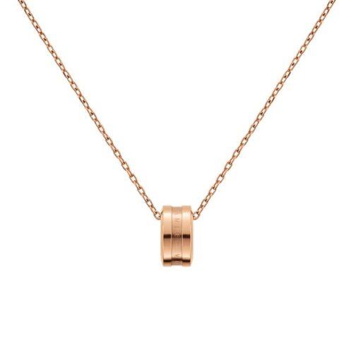Collana Daniel Wellington DW00400158 della collezione Elan Necklace. Collana in acciaio inossidabile (316L) con placcatura in oro rosato.